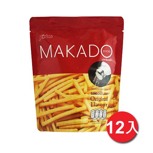 MAKADO麥卡多薯條~鹽味 27g^~12