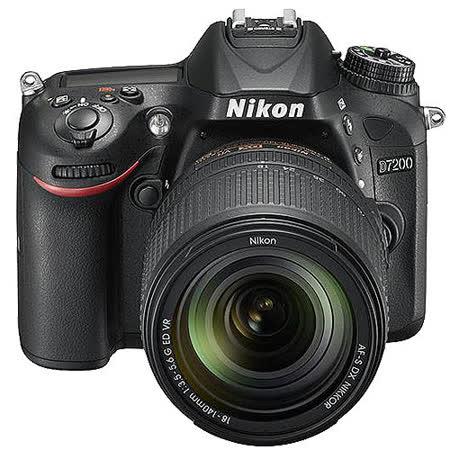 Nikon D7200+18-140mm VR(中文平輸) - 加送SD64G記憶卡+專用鋰電池+單眼雙鏡包+中腳+防潮箱+拭鏡筆+大吹球清潔組+硬保