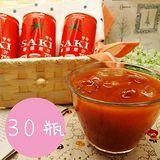 SAKI 韓國無鹽蕃茄汁 180ml*30/箱