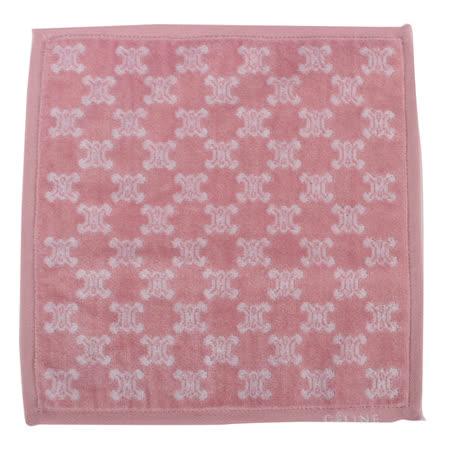 【部落客推薦】gohappyCELINE 經典BLASON LOGO滿版圖徽方巾-粉紅色評價如何大 遠 百 幾 點 開
