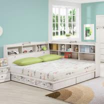 HAPPYHOME 蜜斯朵3.5尺加大單人床659-1+659-2不含床頭櫃-床墊