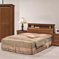HAPPYHOME 賽德克正樟5尺雙人床685-1+685-2不含床頭櫃-床墊