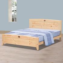 HAPPYHOME 北歐松木3.5尺加大單人床架698-4不含床頭櫃-床墊