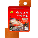 韓國 7mk 暖宮貼 艾草小太陽貼 全身/腹部/經痛 (3入太陽花貼+12入方形貼/包)