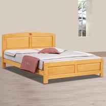 HAPPYHOME 歌莉雅5尺雙人床架701-2可選色不含床頭櫃-床墊