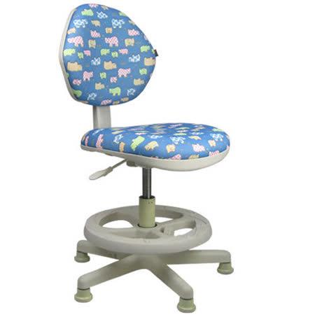 邏爵LOGIS-守習微笑河馬兒童椅/成長椅/電腦椅(二色)