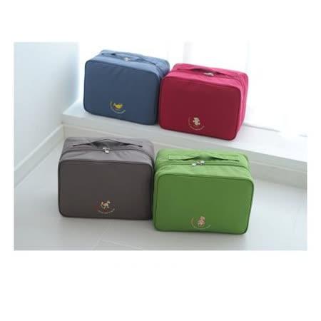 【旅遊首選、旅行用品】韓版-大容量行李箱外掛式旅行收納袋購物包(L號)
