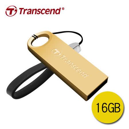 創見 JF520G (金) 16GB防水隨身碟 USB2.0