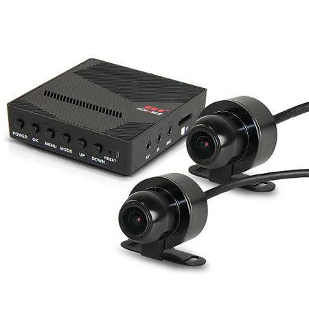 掃瞄者 A760 前後防水型雙鏡頭 FULL HD 高畫質行車記錄器 (送32G Class10記憶卡)