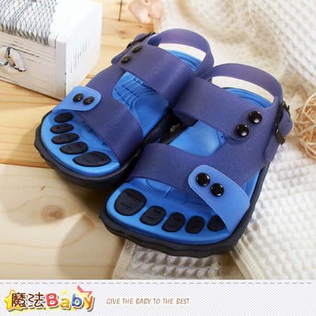 魔法Baby~果凍繽紛水陸兒童涼鞋 sh6035
