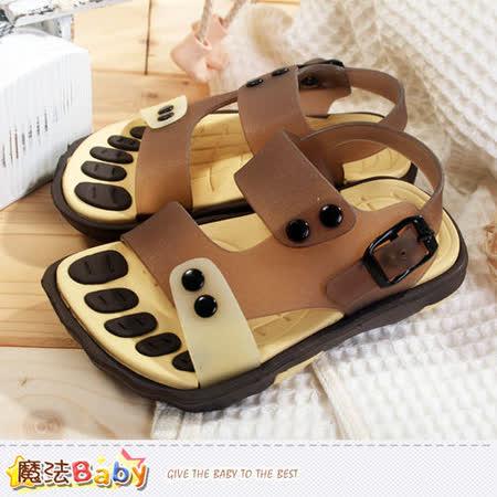 魔法Baby~果凍繽紛水陸兒童涼鞋 sh6042