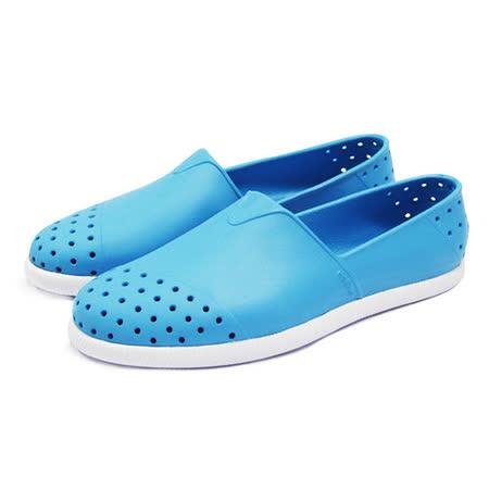(男女)native VERONA 懶人鞋 天空藍/貝殼白-018004512