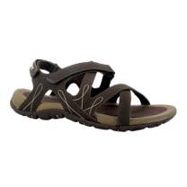 HI-TEC英國戶外(女款卡其)水陸涼鞋/戲水溯溪,休閒旅遊推薦F000460047