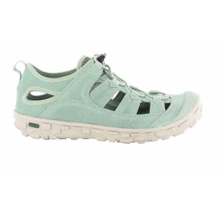 HI-TEC英國戶外(女款綠)水陸護指涼鞋/戲水溯溪,休閒旅遊O004547061