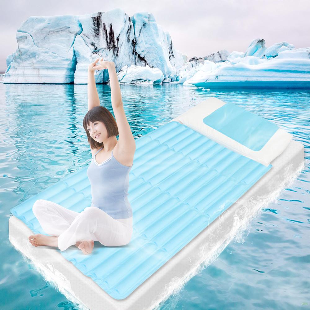 Super Cool 超涼萬用床墊組 ^(含床墊^~1 萬用墊^~2^)