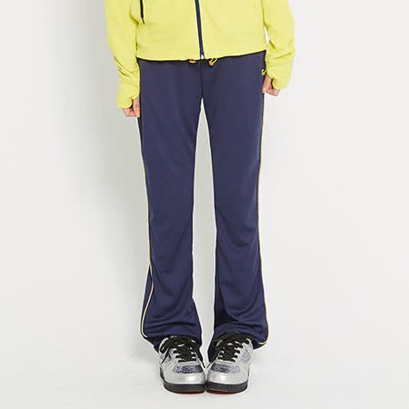 【TOP GIRL】運動抗UV吸排休閒長褲-女-丈青藍