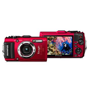 OLYMPUS TG-4 防水防衝擊大光圈相機(TG4,公司貨)-送64G+原廠電池+座充+清潔組+保護貼+回函送500元7-11商品卡