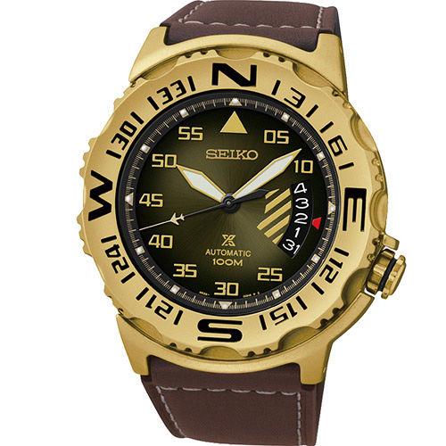精工錶 SEIKO PROSPEX 極限登峰機械腕錶 4R35-00G0G SRP580J1