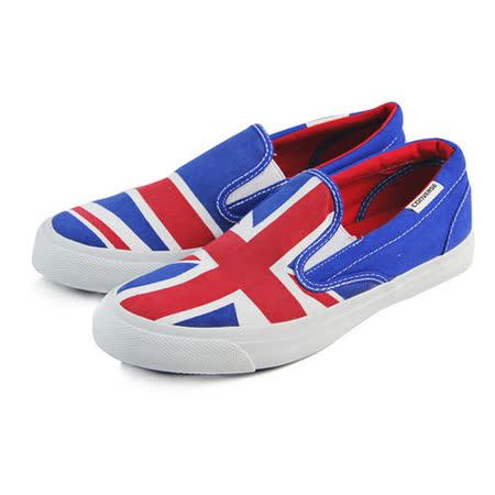 (U系列)CONVERSE All Star Core Slip 帆布鞋 藍/紅/白-148695C