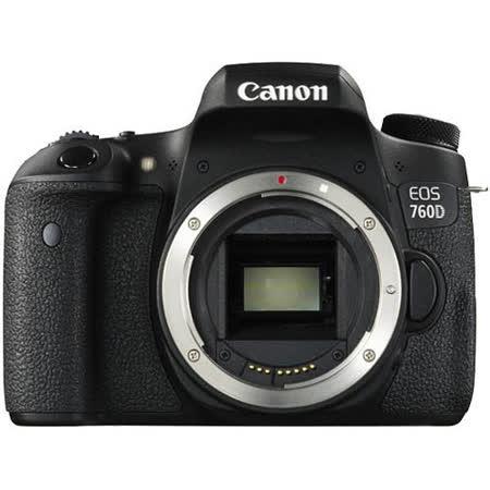 Canon EOS 760D body (公司貨)-送32G卡+原廠電池+快門線+遙控器+熱薛蓋+HDMI+減壓背帶+專用相機包