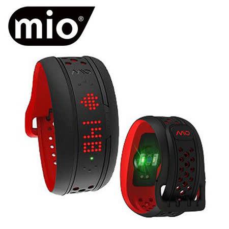 MIO FUSE 第二代連續心率監測 運動手環 (深紅 長腕帶版)
