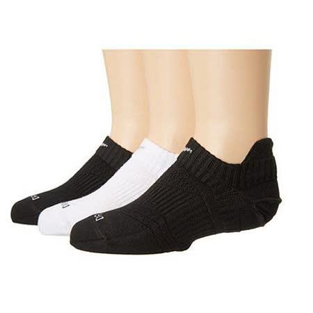Nike 2015女時尚Dri Fit舒適低切無外露黑白運動短襪3入組【預購】