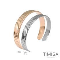 【TiMISA】真藏精典  純鈦手環(雙色可選)