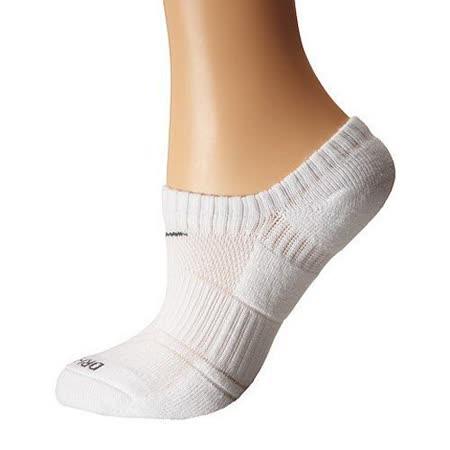 Nike 2015女經典Dri Fit舒適低切無外露白色運動短襪3入組【預購】