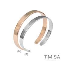 【TiMISA】至愛品藏 純鈦手環(雙色可選)