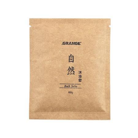 【Grange 璞草園】自然沐浴鹽 60g(5入)