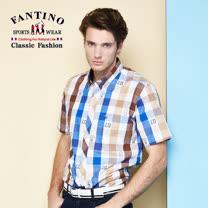【FANTINO】男款 奧地利進口海軍風襯衫  534307