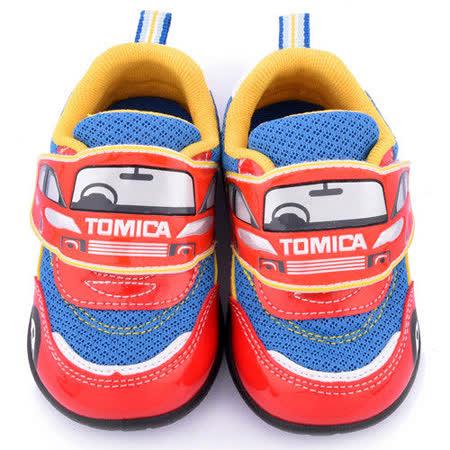 童鞋城堡-Tomica多美小汽車 中童 汽車造型運動鞋TM7751-紅
