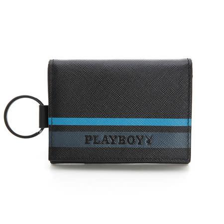 PLAYBOY- Q- Qualify 系列零錢夾-黑色