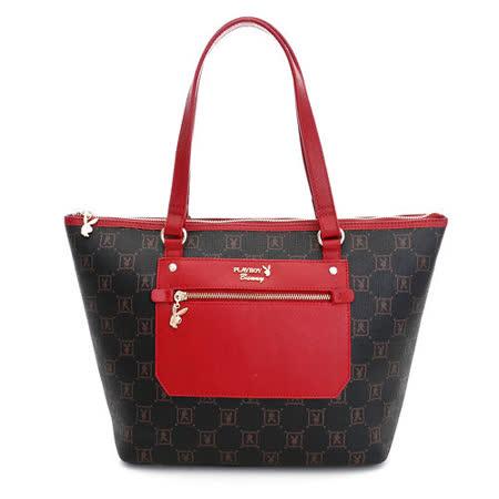 【私心大推】gohappy線上購物PLAYBOY- NS- Stylish (風尚系列) 肩背包-紅色好用嗎遠 百 sogo