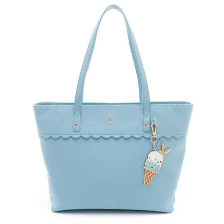 PLAYBOY- Ice Cream 系列購物袋-藍色