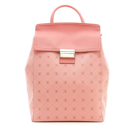 PLAYBOY- Heritage 系列後背包-粉紅色