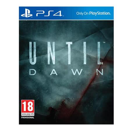 PS4直到黎明Until Dawn-亞洲中文版
