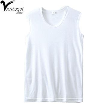 VICTORYH 精梳棉無袖衫(M~XL)