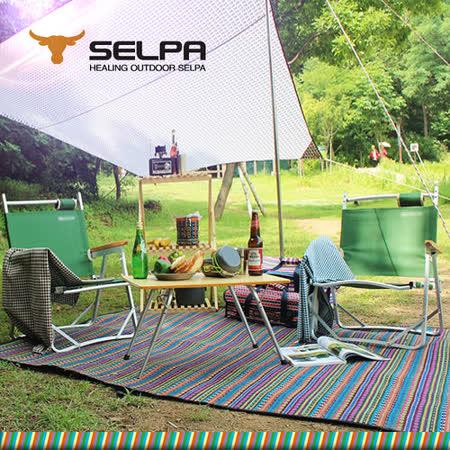 【韓國SELPA】戶外防水處理民族風野餐墊/寶寶爬行墊/地墊/地布