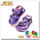 G.P 親子同樂磁扣兩用涼鞋 G5921B-41-紫色