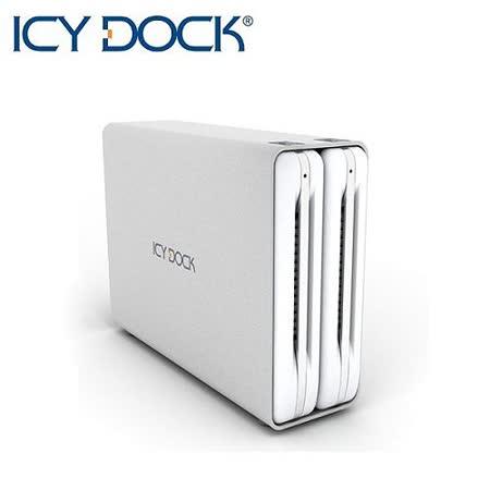 ICY DOCK 3.5吋SATA雙層式硬碟外接盒-MB662U3-2S R1