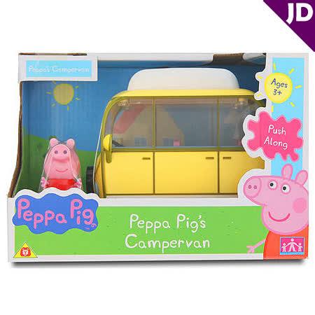 【粉紅豬小妹】黃色露營車 PE05325