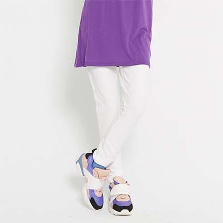 【TOP GIRL】輕柔感彈力內搭褲-女-(經典白)