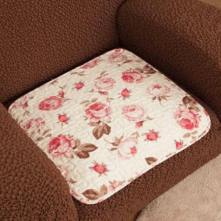 格藍傢飾-莊園玫瑰沙發坐墊1人