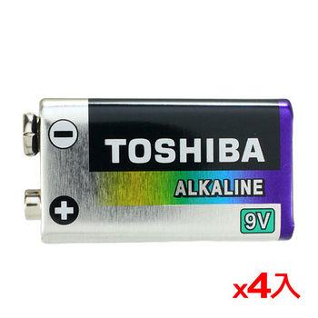★4件超值組★東芝 鹼性電池9V 1入