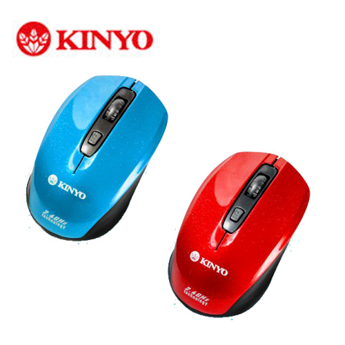 KINYO無線滑鼠 2.4GHz GKM~795
