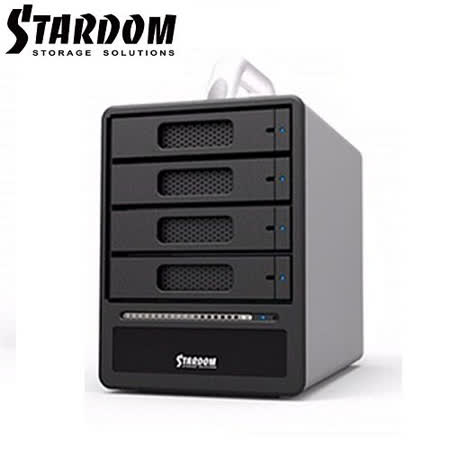 STARDOM 3.5吋/2.5吋USB3.0/eSATA/4bay硬碟外接盒-ST4-SB3