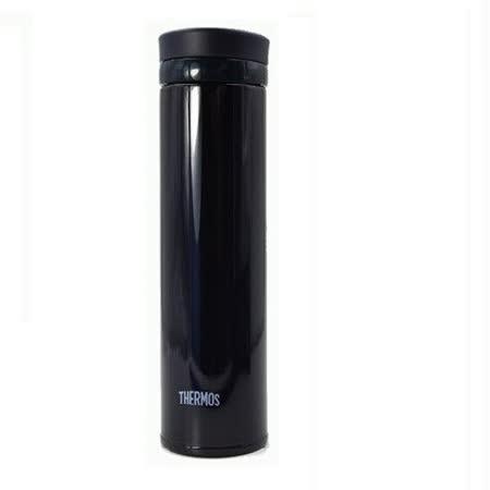 THERMOS膳魔師 超輕量不鏽鋼真空保溫杯0.35L 黑色(JNO-350)