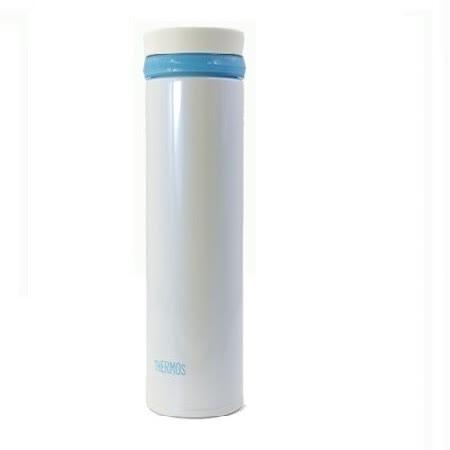THERMOS膳魔師 超輕量不鏽鋼真空保溫杯0.35L 白色(JNO-350)