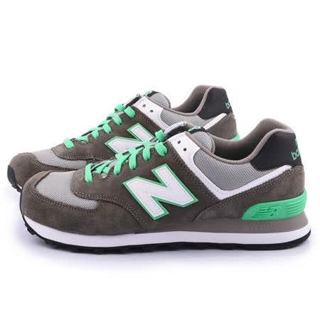 New Balance 男款 麂皮復古運動鞋ML574CPF-灰